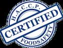 haccp compliance seal